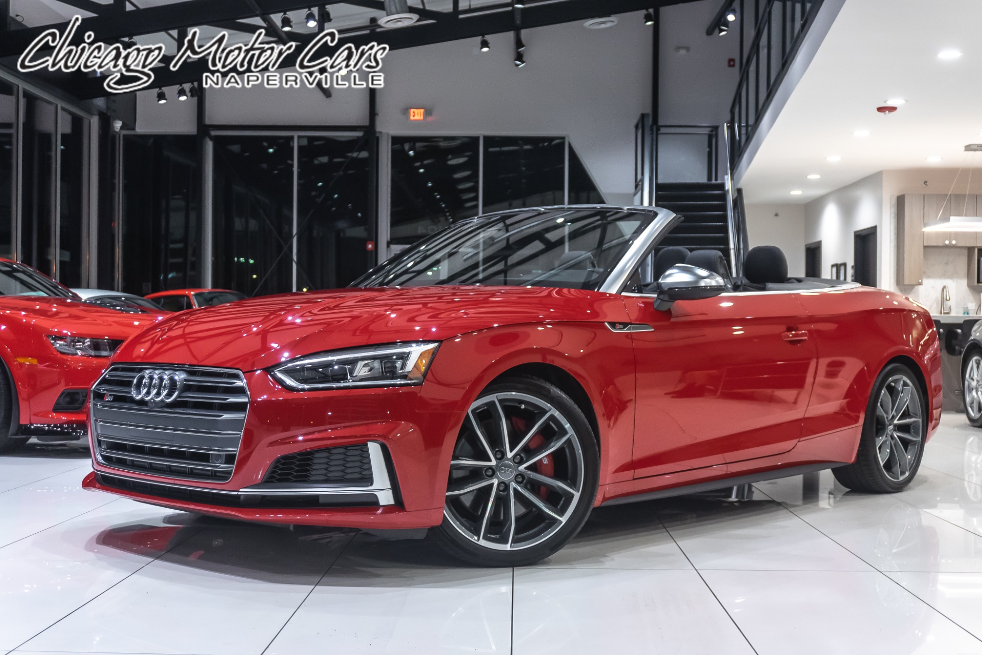 Used 2018 Audi S5 3 0t Quattro Prestige Cabriolet Convertible Msrp 72k Only 6k Miles For Sale Special Pricing Chicago Motor Cars Stock 16264