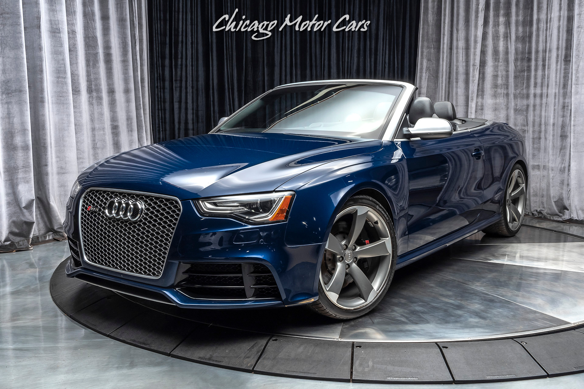 Used 2013 Audi Rs5 Cabriolet Quattro S Tronic Convertible Msrp 85k Sport Exhaust 450hp For Sale Special Pricing Chicago Motor Cars Stock 16270
