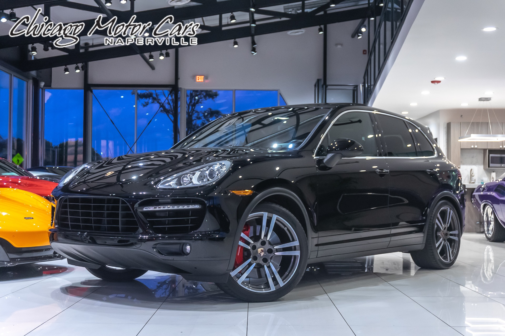 Used 2014 Porsche Cayenne Turbo Suv For Sale Special Pricing Chicago Motor Cars Stock 16297