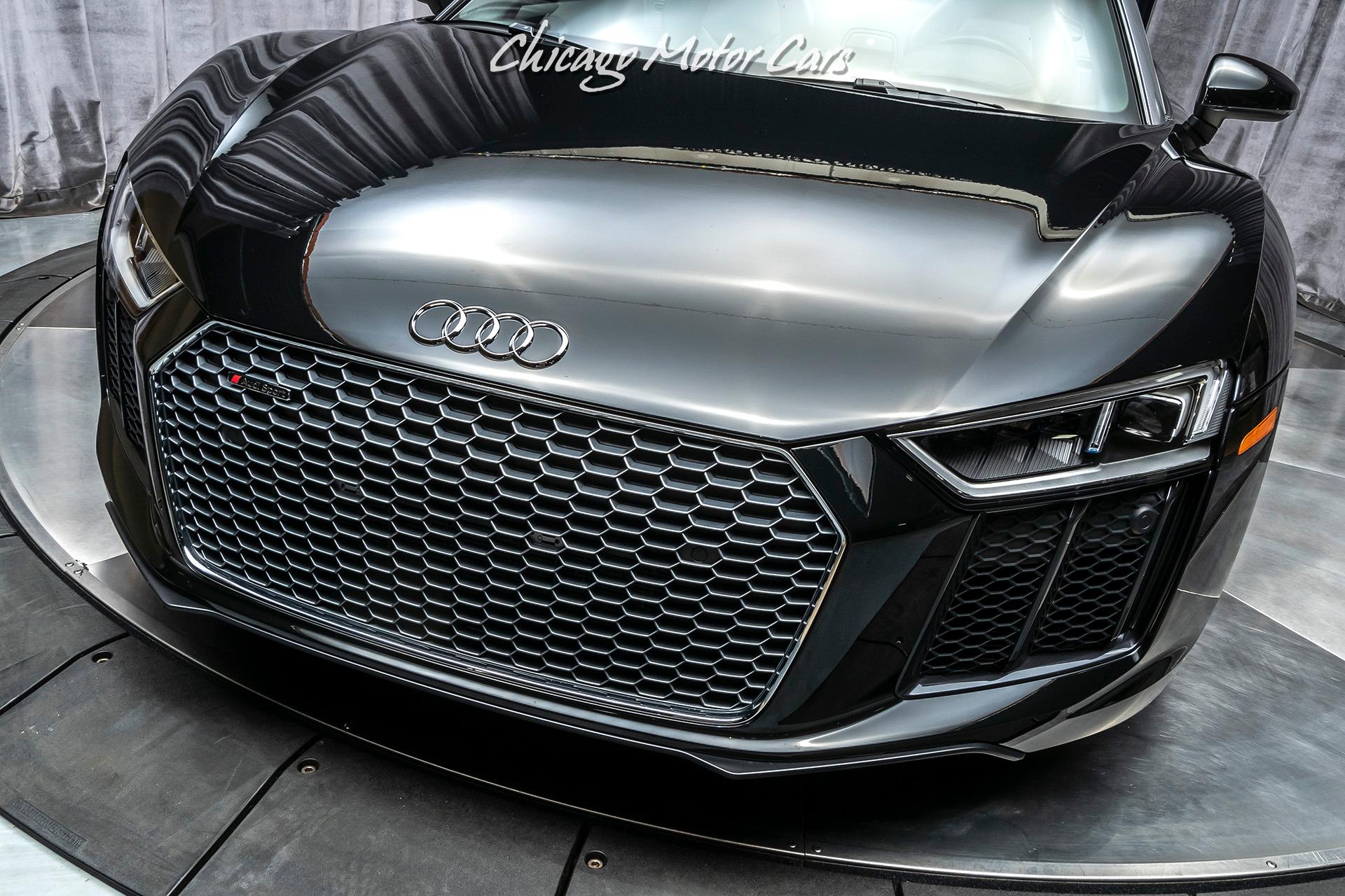 Used-2018-Audi-R8-V10-Spyder-quattro-S-tronic-MSRP-208K-Carbon-Ceramic-Brakes-3k-Miles