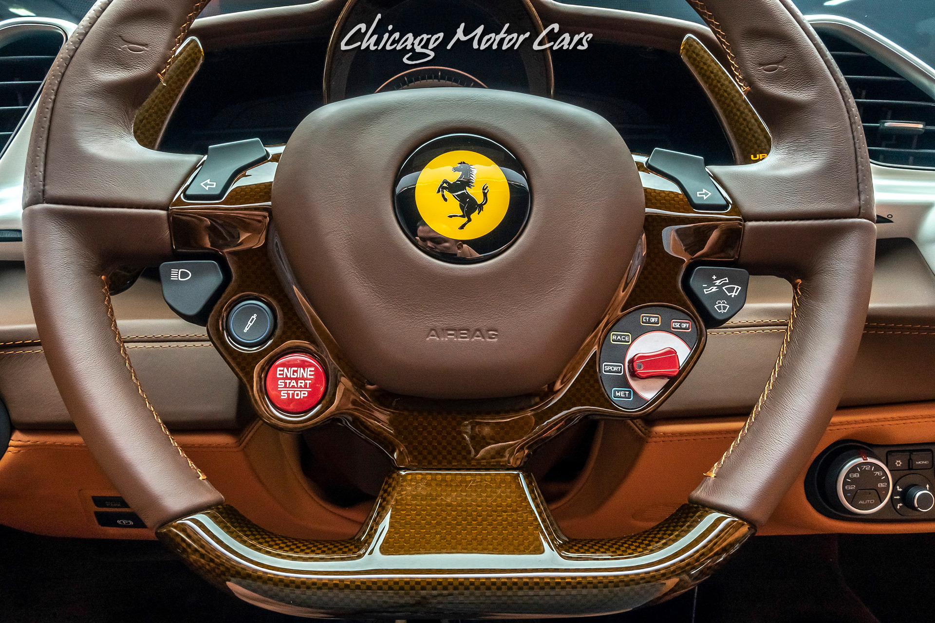 Used 2017 Ferrari 488 Spider Convertible Only 3800 Miles Msrp 409k New For Sale Special Pricing Chicago Motor Cars Stock 16350