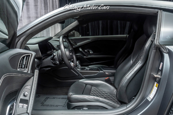 Used-2017-Audi-R8-V10-Plus-quattro-S-tronic-Coupe-MSRP-210K-FACTORY-MATTE-PAINT