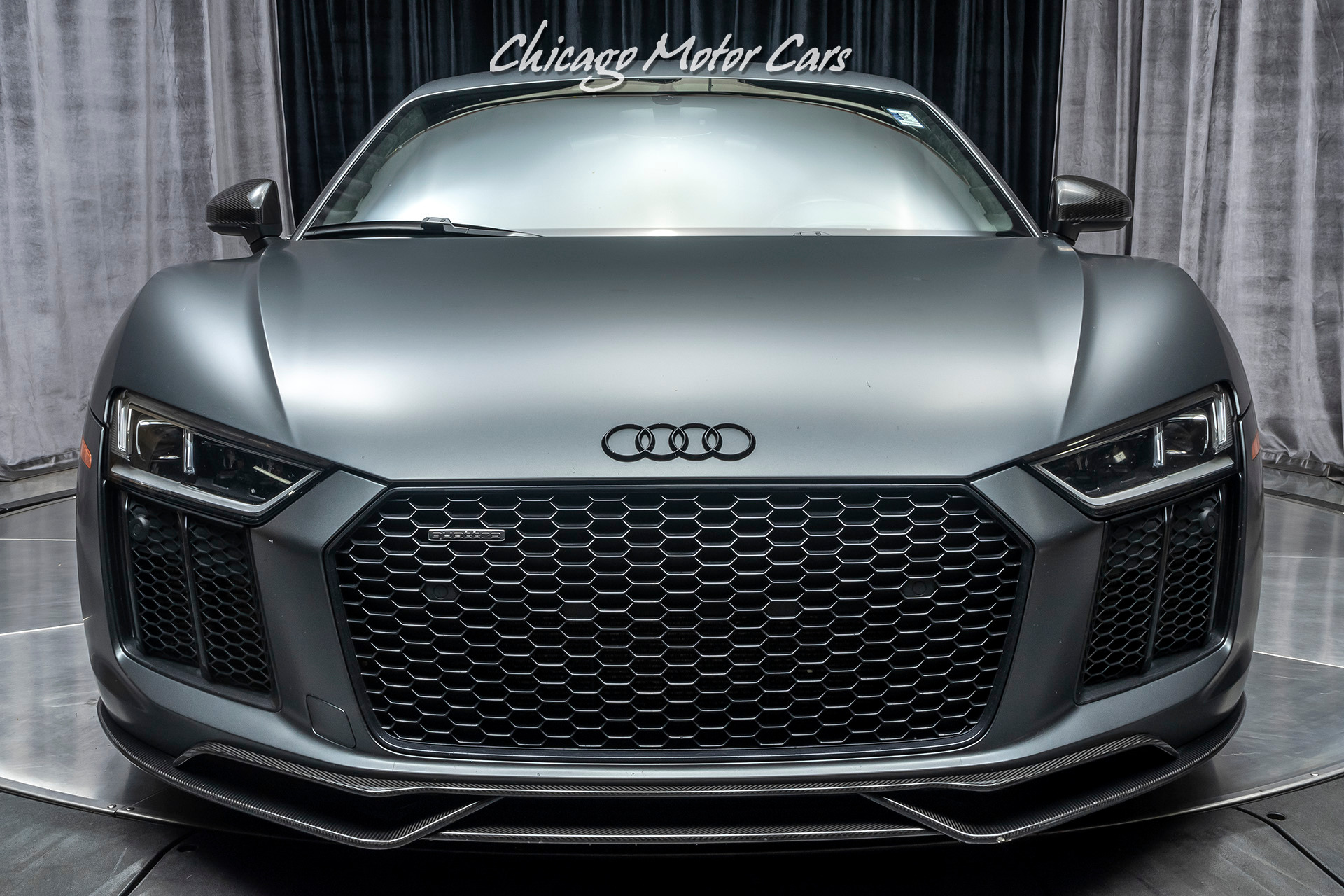 Used 2017 Audi R8 V10 Plus Quattro S Tronic Coupe Msrp 210k Factory Matte Paint For Sale Special Pricing Chicago Motor Cars Stock 17033