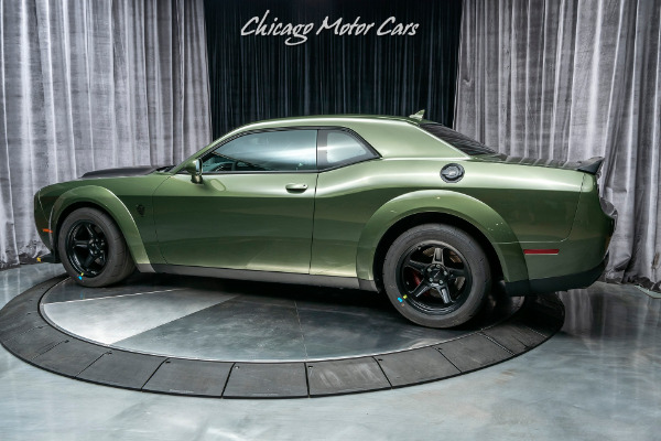 Used-2018-Dodge-Challenger-SRT-Demon-ONLY-37-MILES-F8-GREEN-DEMON-CRATE