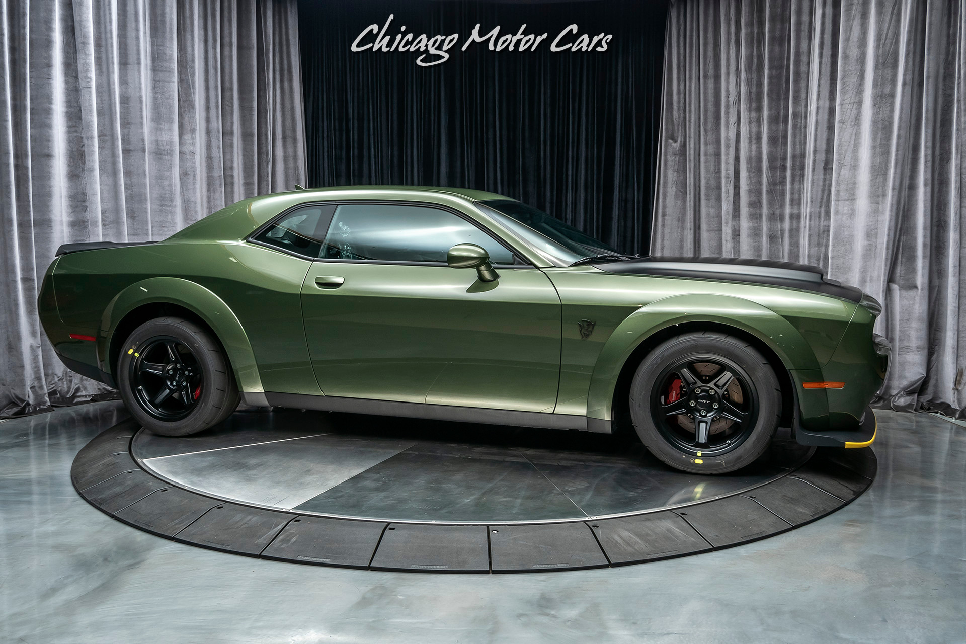Used-2018-Dodge-Challenger-SRT-Demon-ONLY-37-MILES-F8-GREEN-DEMON-CRATE