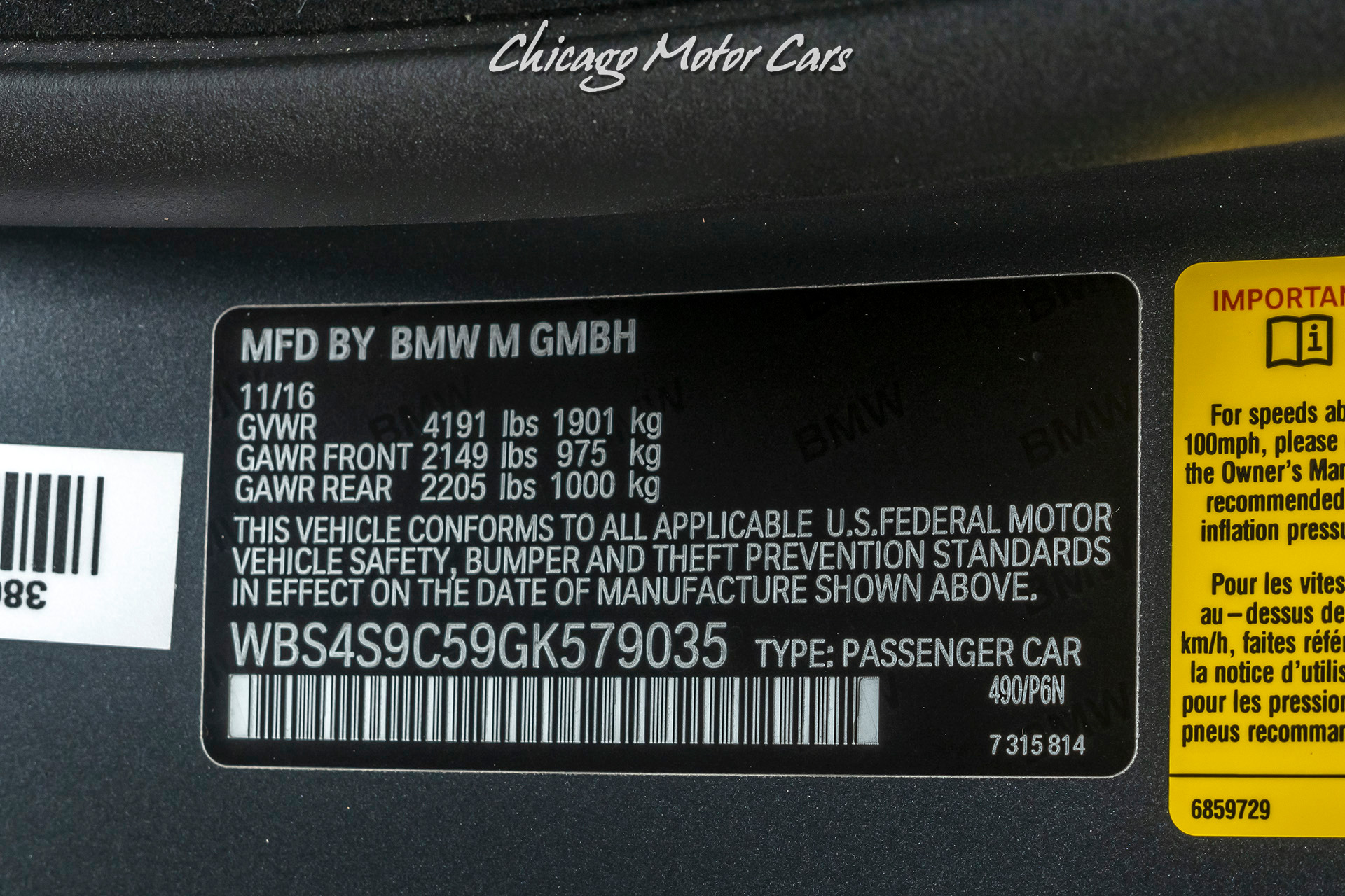 Used-2016-BMW-M4-GTS-RARE-Only-1700-Miles-Limited-Production