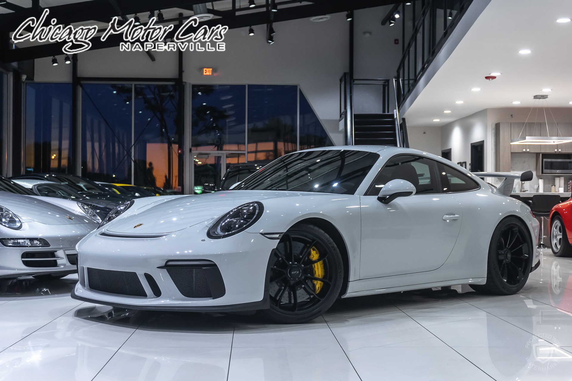 Used 2018 Porsche 911 Gt3 Coupe Msrp 174k Carbon Ceramic Brakes For Sale Special Pricing Chicago Motor Cars Stock 16414