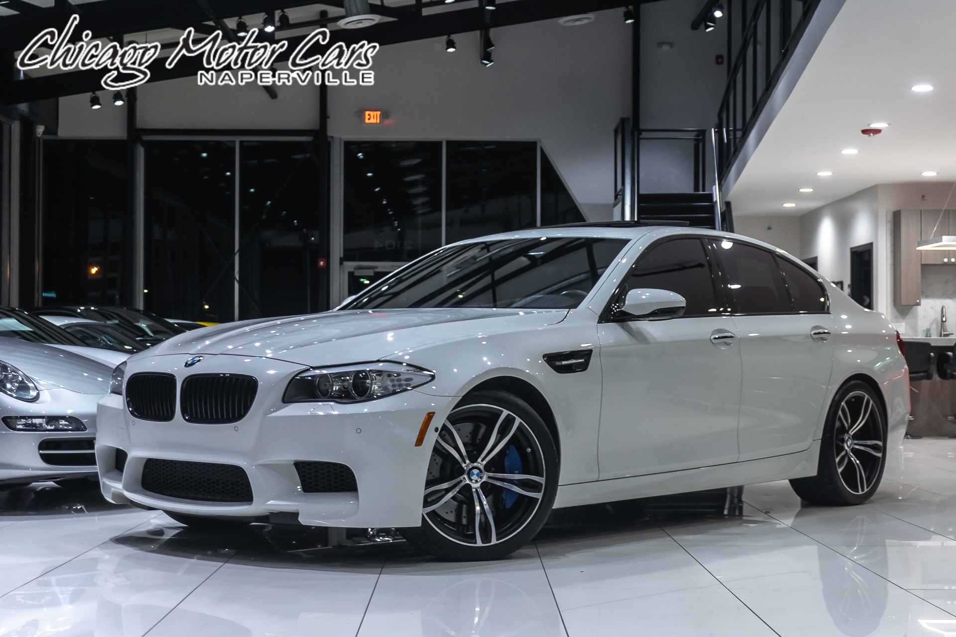 Used 2013 Bmw M5 Sedan Msrp 100k Executive Package For Sale Special Pricing Chicago Motor Cars Stock 16408