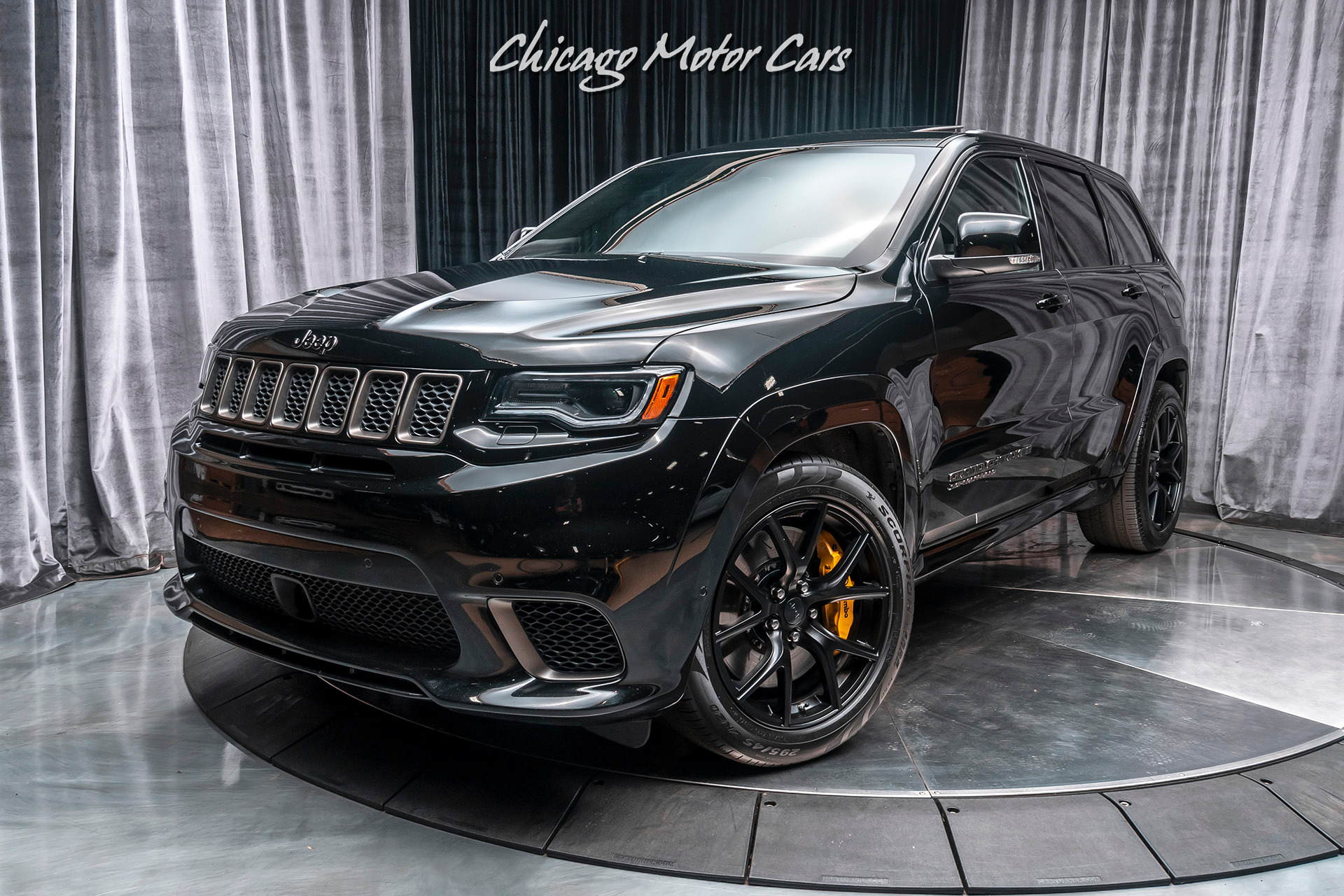 Used 2018 Jeep Grand Cherokee Trackhawk Awd Suv Msrp 98k Signature Wrapped Interior Pkg For Sale Special Pricing Chicago Motor Cars Stock 16416