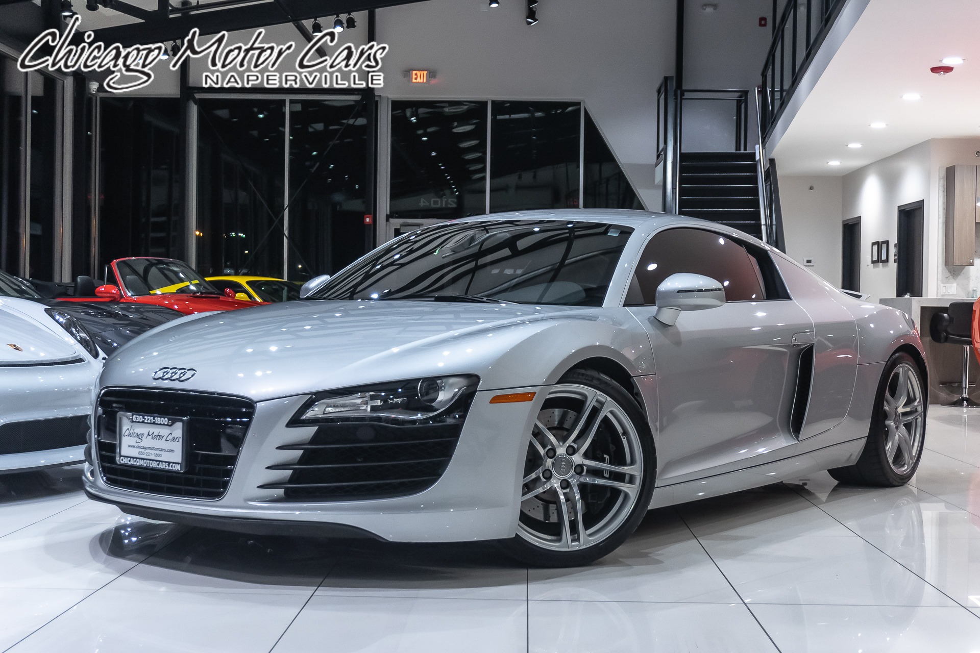 Used 2009 Audi R8 4 2 V8 Quattro Coupe Msrp 126k 6 Manual Guide