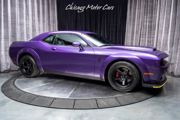 Used-2018-Dodge-Challenger-SRT-Demon-Coupe-DELIVERY-MILES-DEMON-CRATE-INCLUDED