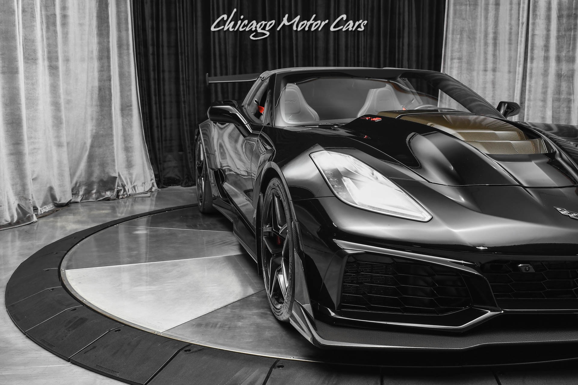 Used-2019-Chevrolet-Corvette-ZR1-3ZR-Coupe-Blacked-Out-Only-8K-Miles