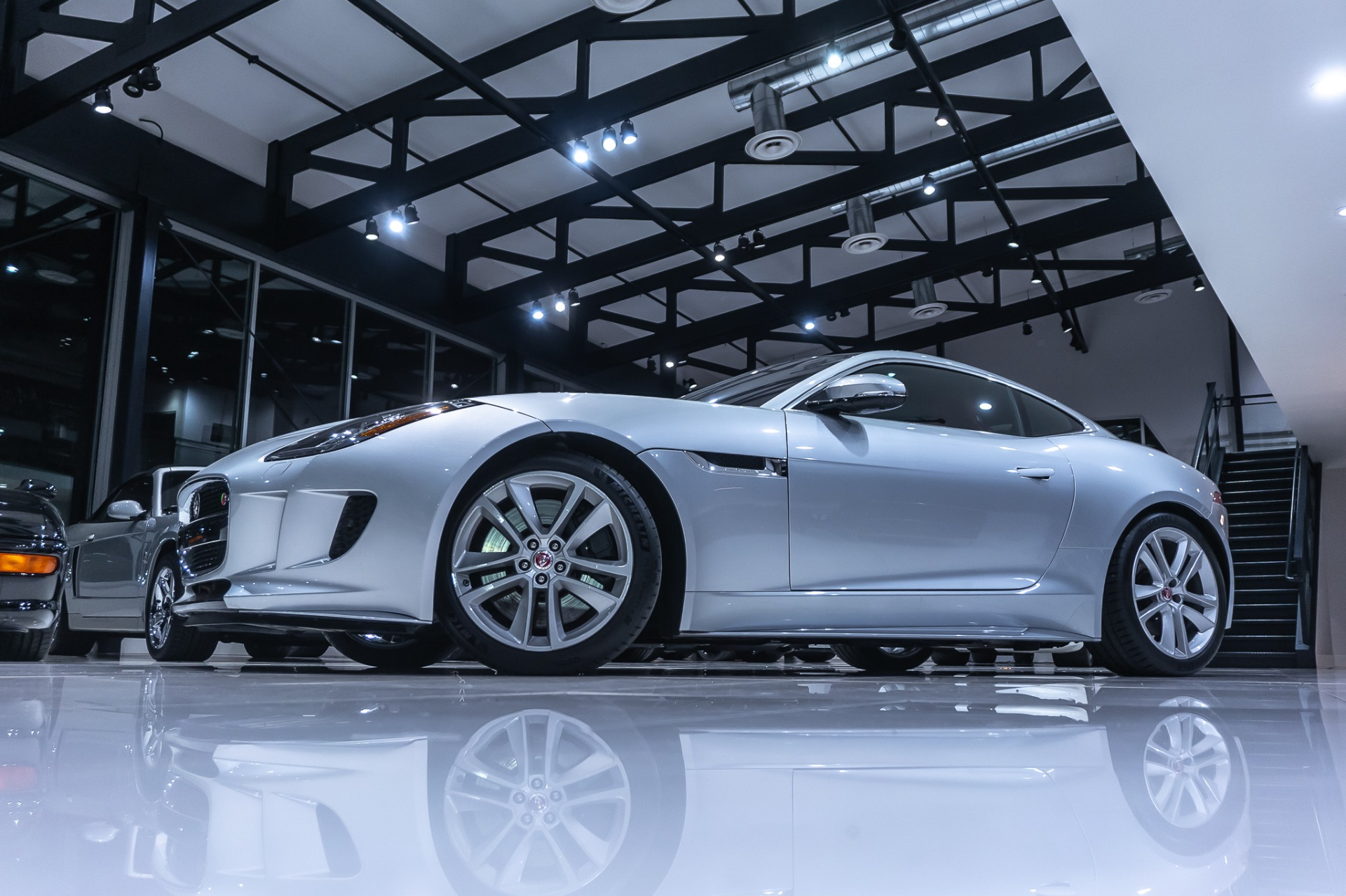 Used-2017-Jaguar-F-TYPE-S-AWD-Coupe-Only-13K-Miles-PERFORMANCE-SEATS-SUPERCHARGED