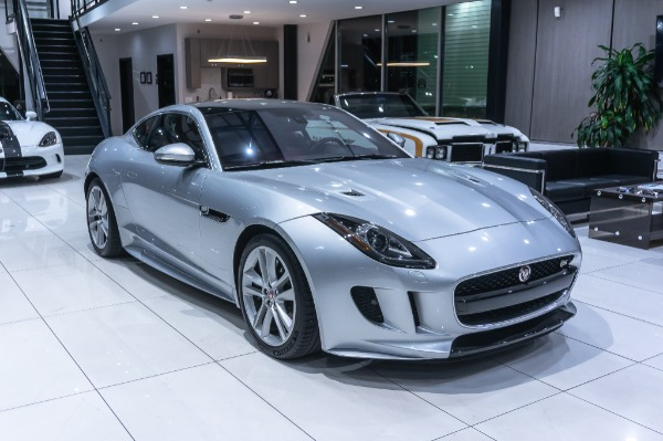 Used-2017-Jaguar-F-TYPE-S-AWD-Coupe-Only-13K-Miles-PERFORMANCE-SEATS