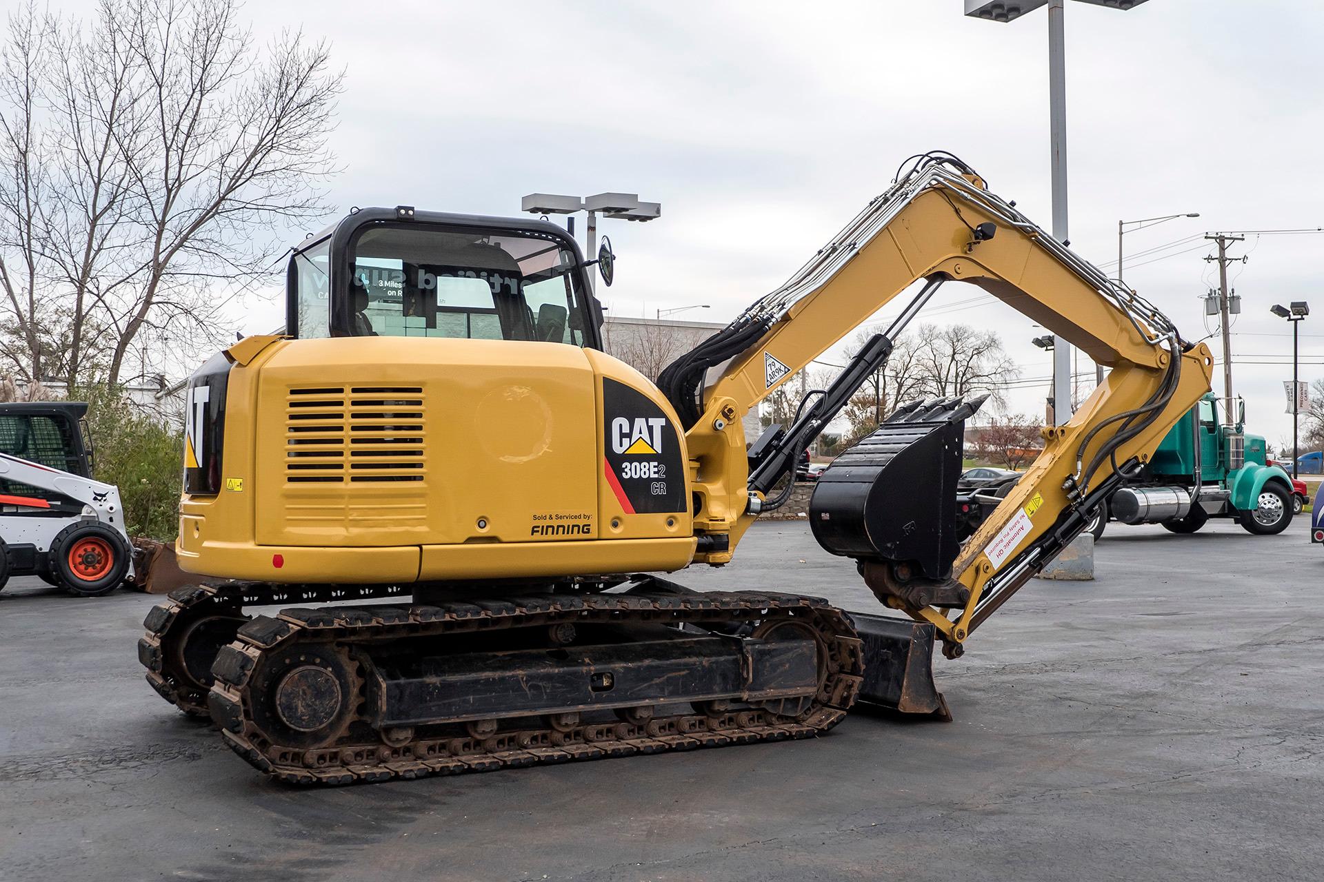 Used-2017-Caterpillar-308E2-Hydraulic-Excavator