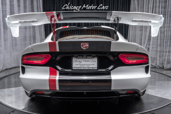 Used-2016-Dodge-Viper-ACR-Coupe-EXTREME-AERO-PACKAGE-Only-3800-Miles
