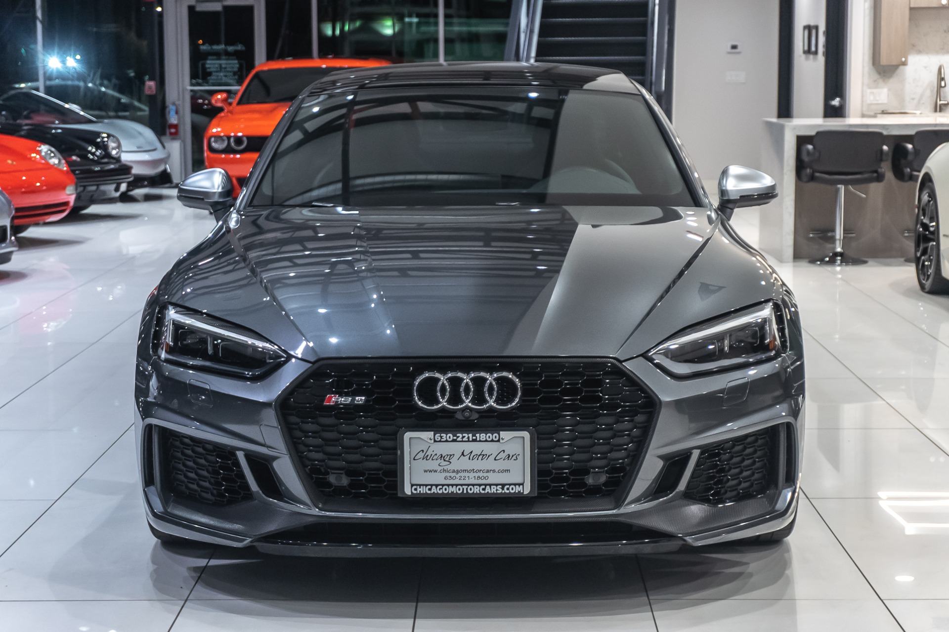 Used 2018 Audi Rs5 Coupe Premium Sport Packages For Sale Special Pricing Chicago Motor Cars Stock 16544