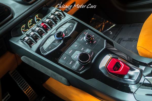Used-2015-Lamborghini-Huracan-LP610-4-Coupe-Pearl-Orange-ONLY-6k-Miles-UPGRADES-