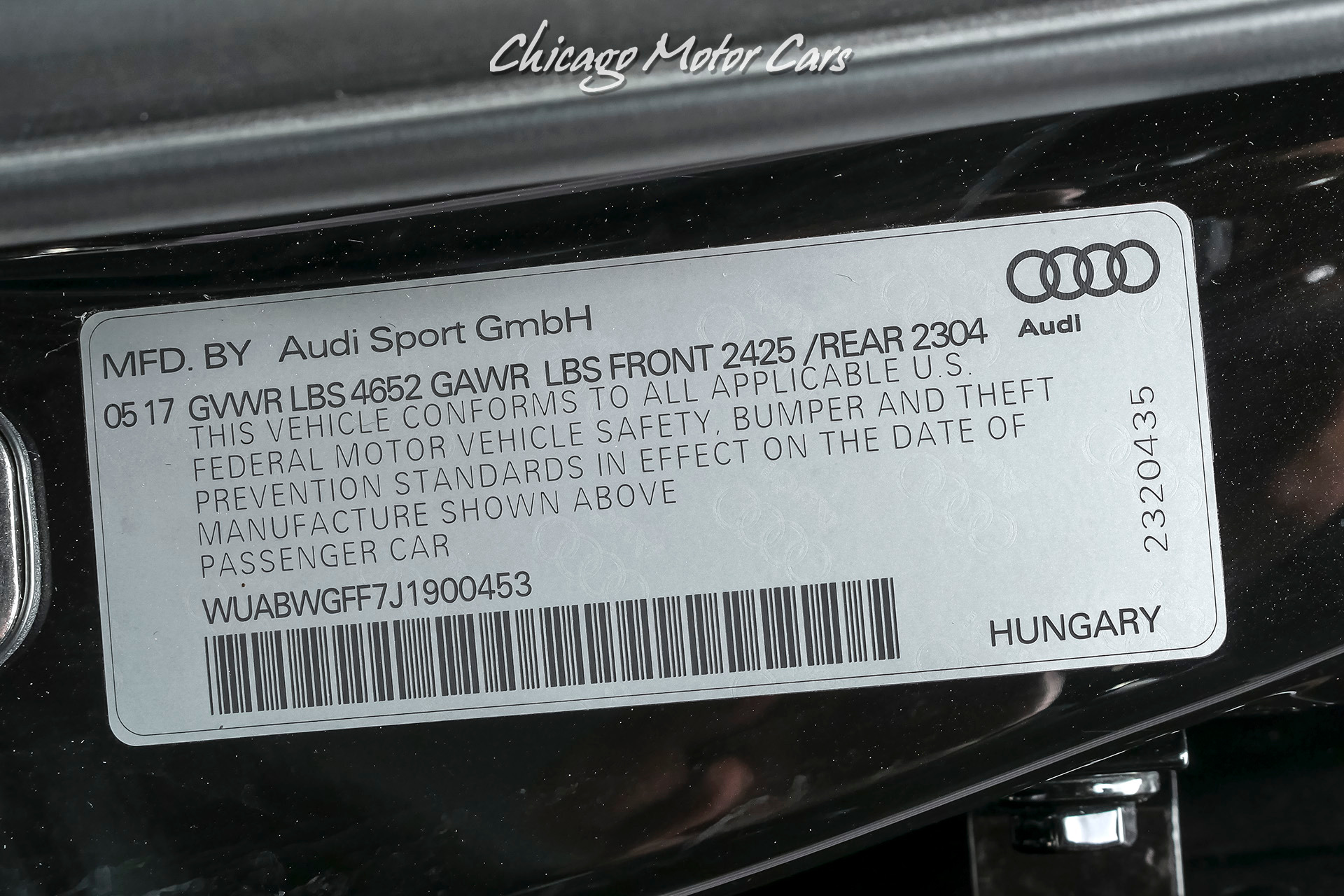 Used-2018-Audi-RS3-25T-quattro-APR-Stage-II-500-HP