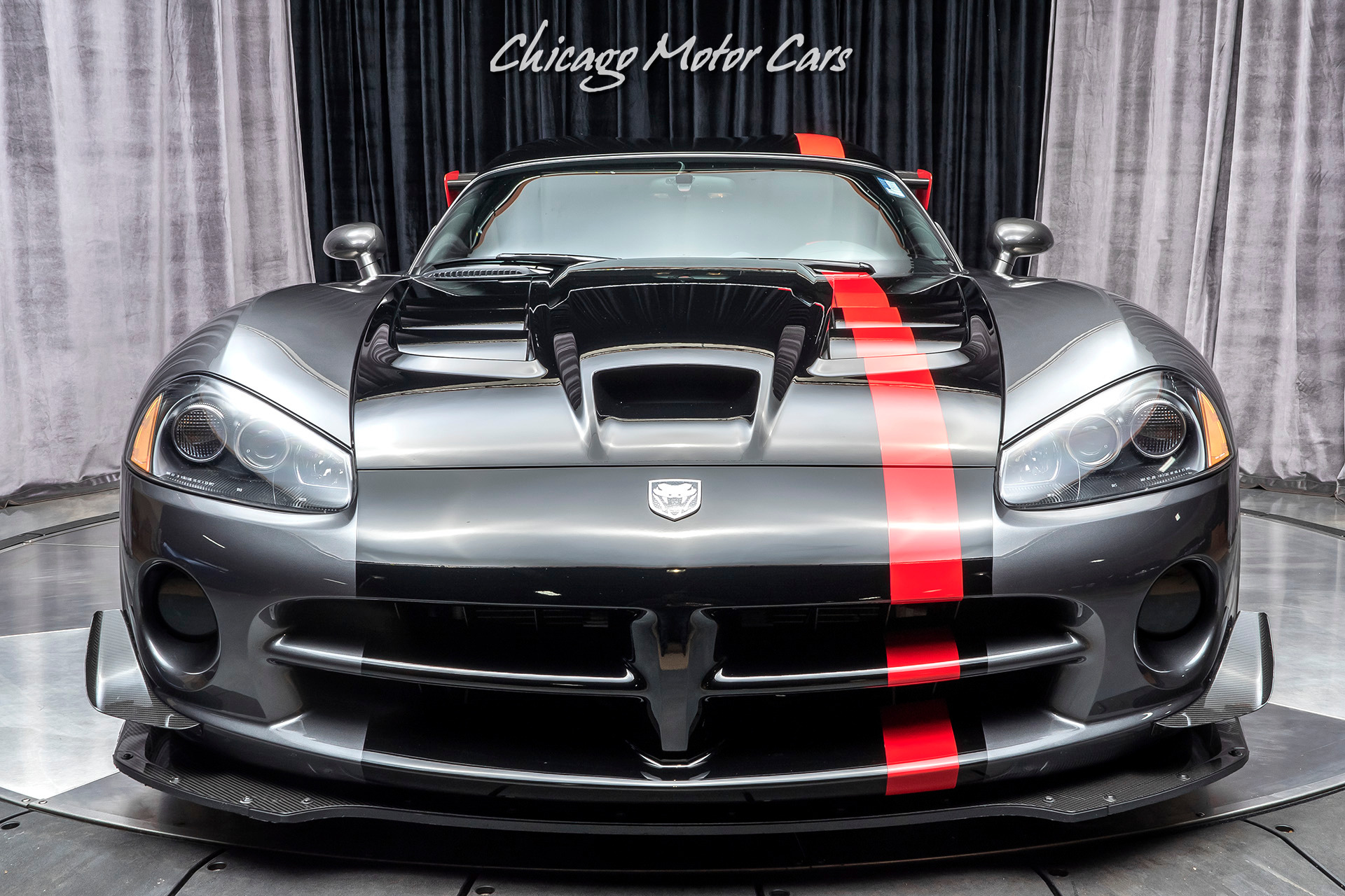 Used-2009-Dodge-Viper-ACR-Coupe-9k-Miles-Collector-Quality-Stripes
