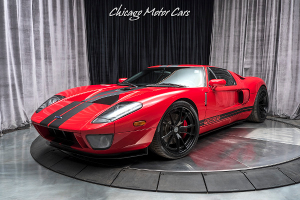 Used-2006-Ford-GT-GT40-All-4-Options-Upgrades-HRE-Wheels-Whipple-Supercharger