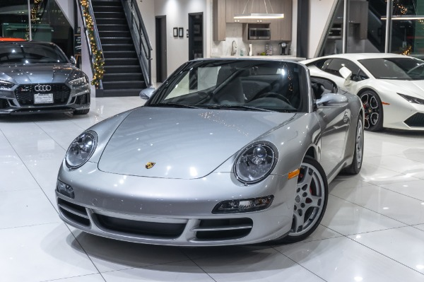 Used-2006-Porsche-Carrera-S-Cabriolet-6-Speed-Sport-Chrono-Bose-Only-13k-Miles