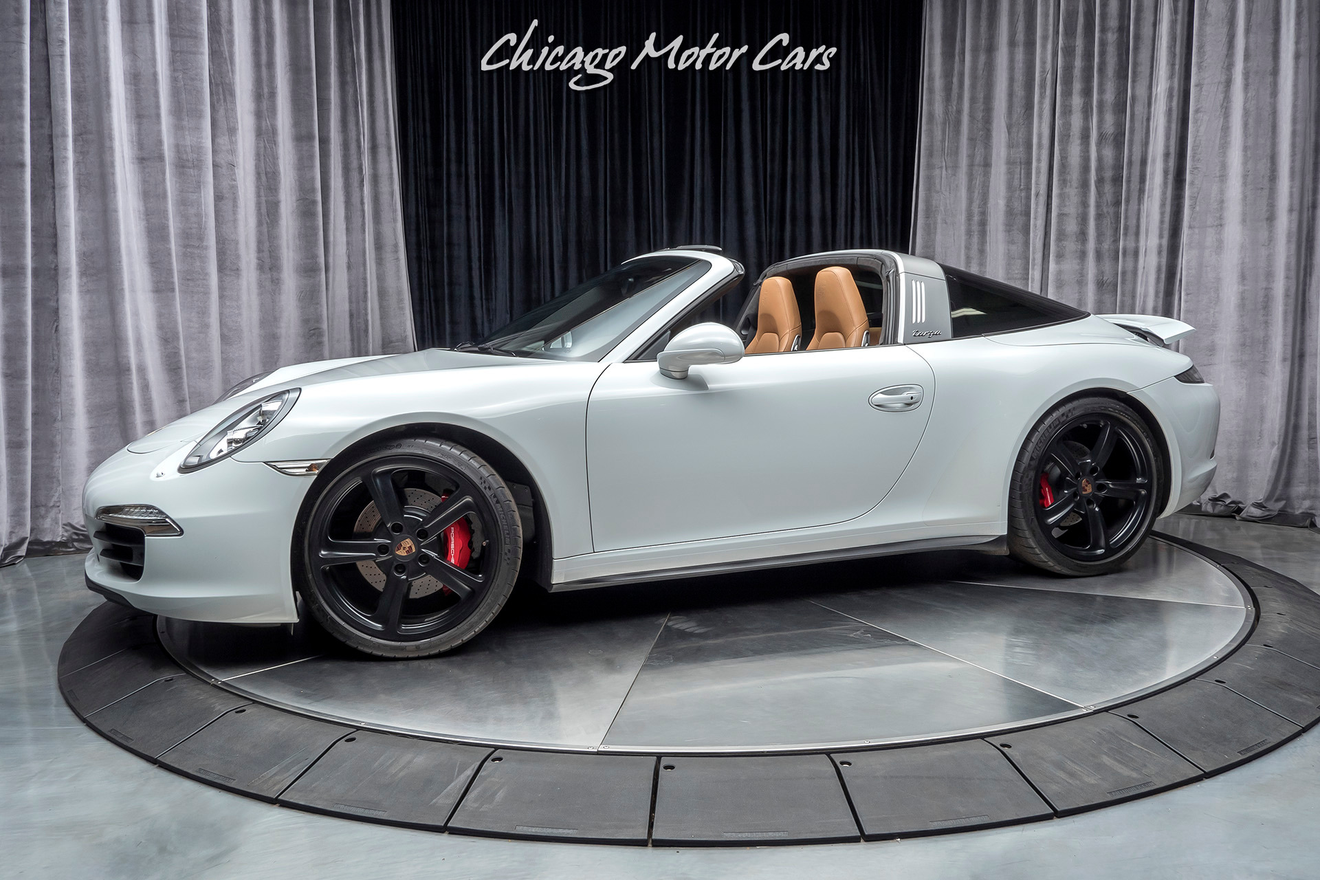 Used 2015 Porsche 911 Targa 4s Original Msrp 153k Loaded W Factory Options For Sale Special Pricing Chicago Motor Cars Stock 16450d