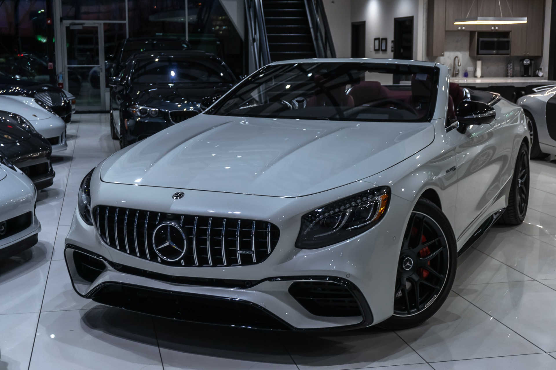 Used 2019 Mercedes-Benz S63 AMG Cabriolet 4Matic Exclusive ...