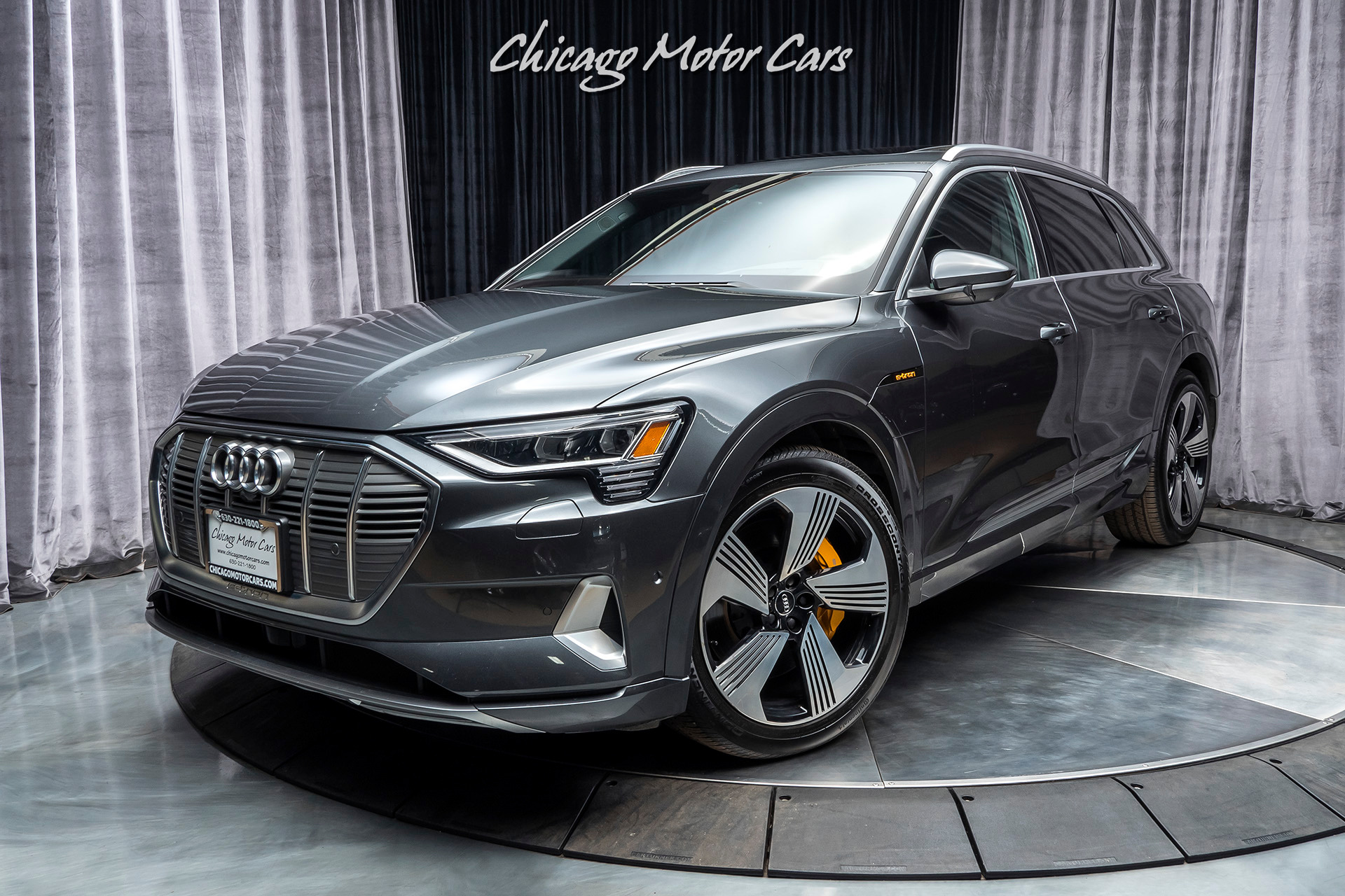 Used 2019 Audi E Tron Quattro Prestige Suv Msrp 89k Edition One Package For Sale Special Pricing Chicago Motor Cars Stock 16687