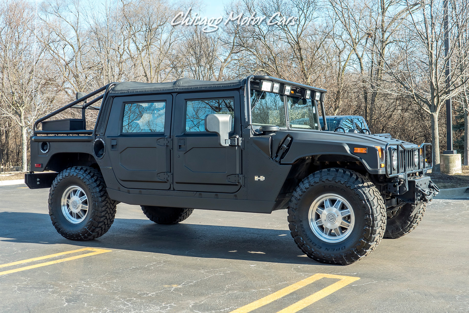 Used 2002 HUMMER H1 Open-Top 4WD SUV AFTERMARKET WHEELS ...