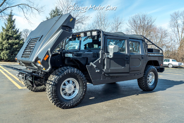 Used-2002-HUMMER-H1-Open-Top-4WD-Diesel-Winch-Only-25k-Original-Miles