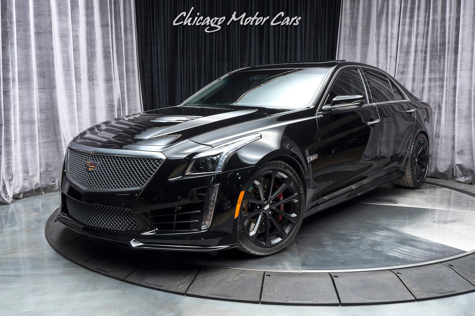 Used 2016 Cadillac Cts V Sedan Msrp 89k Luxury Package Ultraview Sunroof For Sale Special Pricing Chicago Motor Cars Stock 16699a