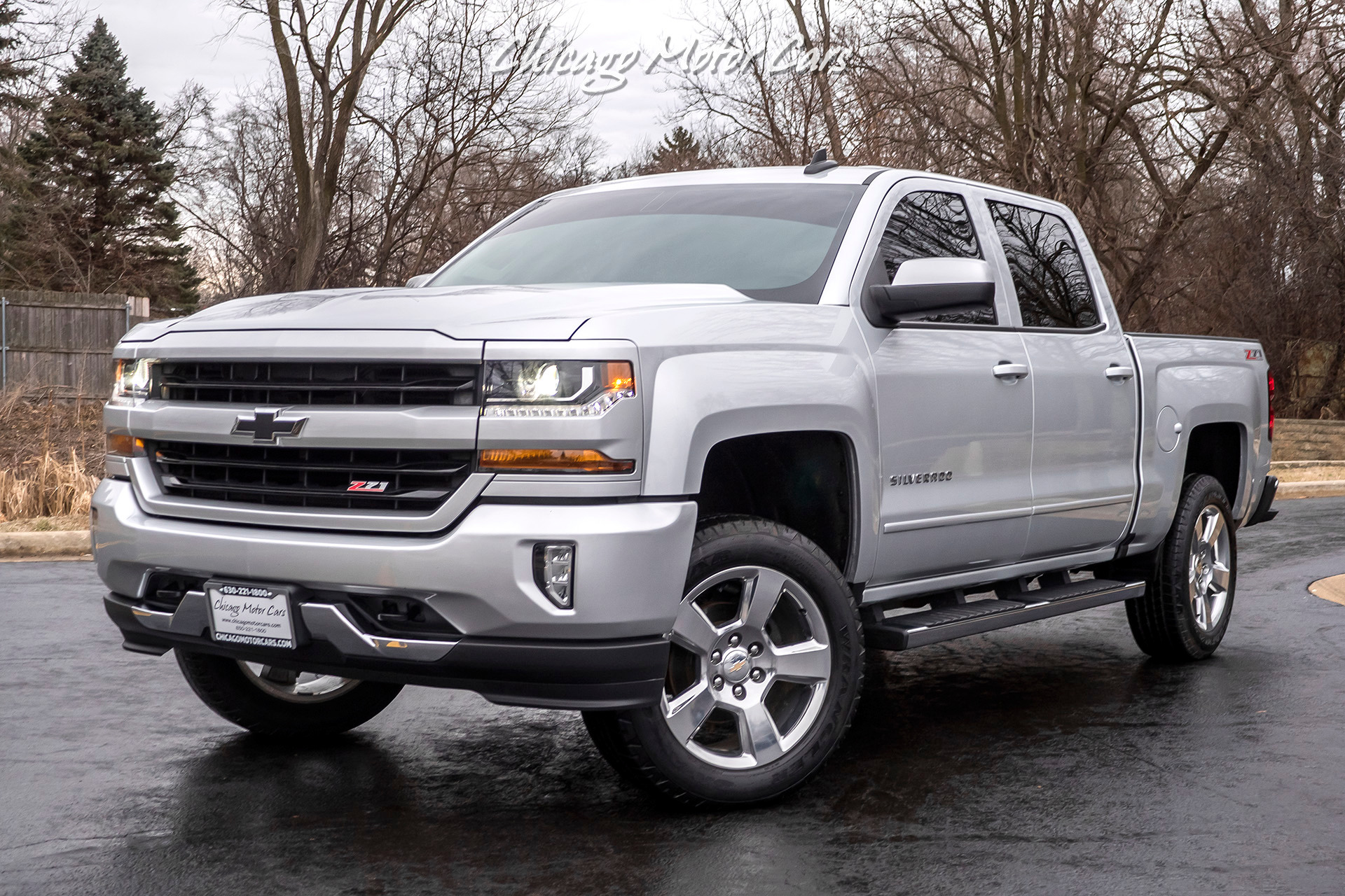 Used 2017 Chevrolet Silverado 1500 Crew Cab Short Bed 4wd Lt Z71 Loaded W Options For Sale 30 800 Chicago Motor Cars Stock 17011