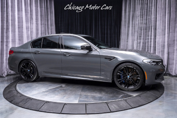 Used-2019-BMW-M5-Competition-Sedan-MSRP-142K-RARE-GRIGIO-TELESTO-PEARL-PREMIUM-PACKAGE