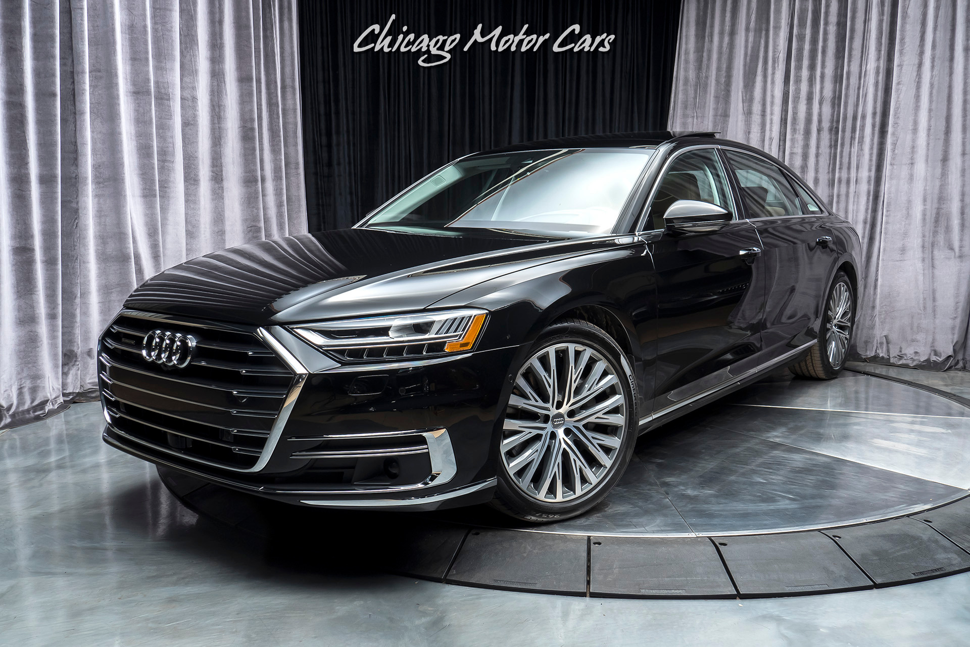 Used 2019 Audi A8 L 3 0t Quattro Sedan Msrp 99k Executive Package For Sale Special Pricing Chicago Motor Cars Stock 16722