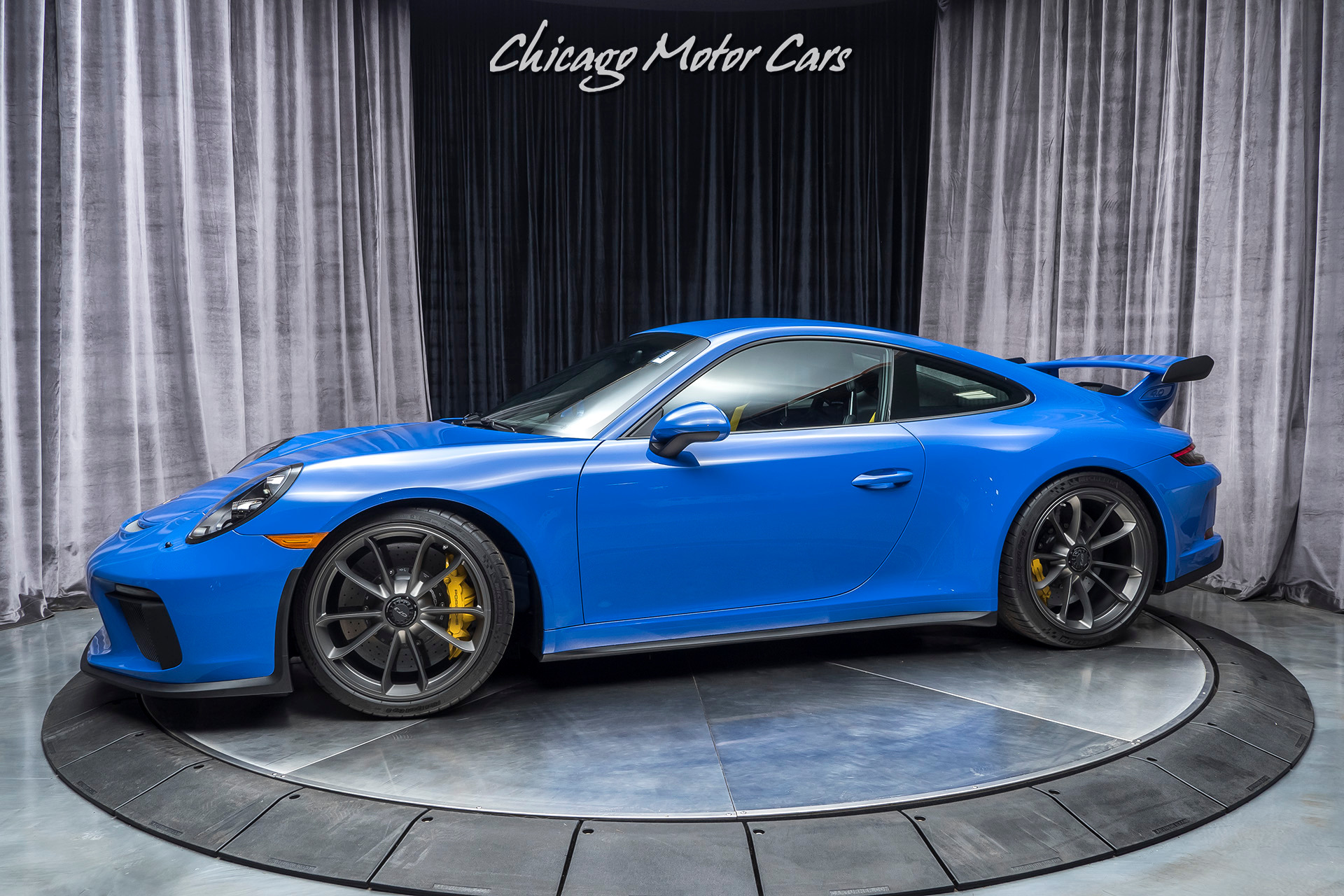 Used 2018 Porsche 911 Gt3 Coupe 6 Speed Manual Msrp 192 640 Rare Pts Maritime Blue For Sale Special Pricing Chicago Motor Cars Stock 16726