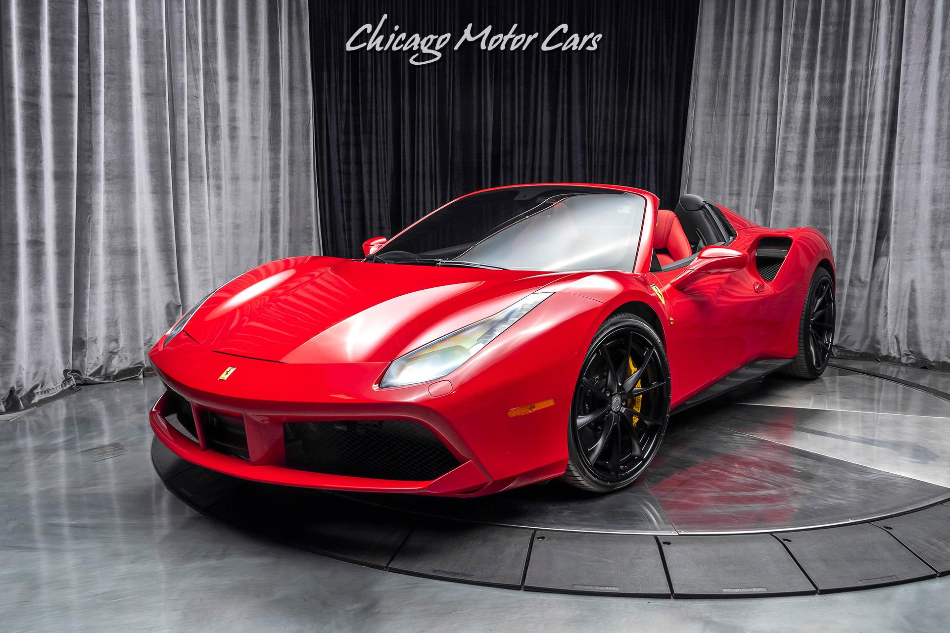 Used-2018-Ferrari-488-Spider-Convertible-2122-HRE-PERFORMANCE-WHEELS-CARBON-FIBER-SPORT-EXHAUST