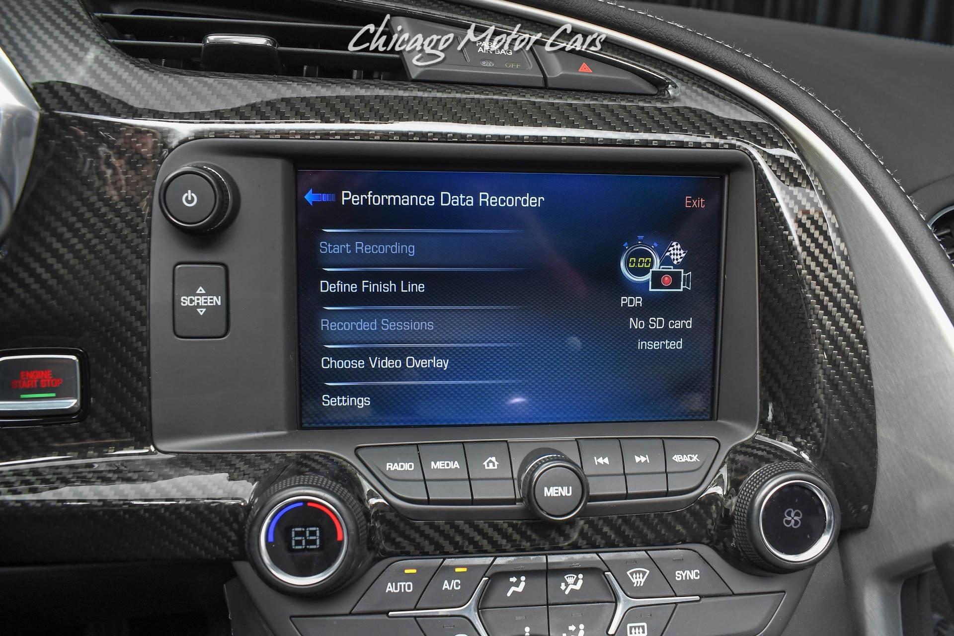 Used-2019-Chevrolet-Corvette-ZR1-Coupe-8-SPEED-Auto-Performance-Data-Recorder-Upgrades