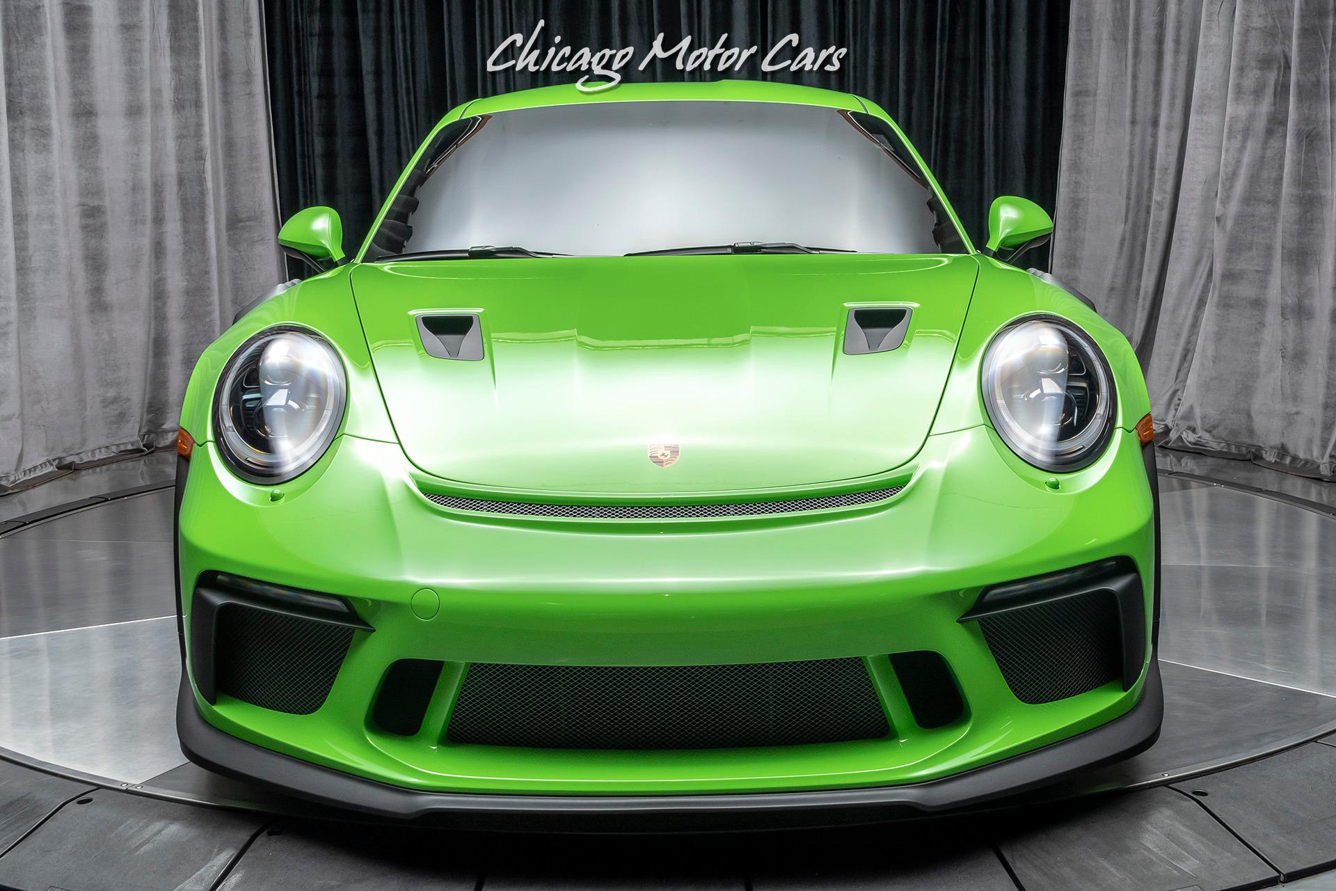 Used-2019-Porsche-911-GT3-RS-Axle-Lift-PCCBs-Carbon-Fiber-Lightweight-Buckets-Lizzard-Green