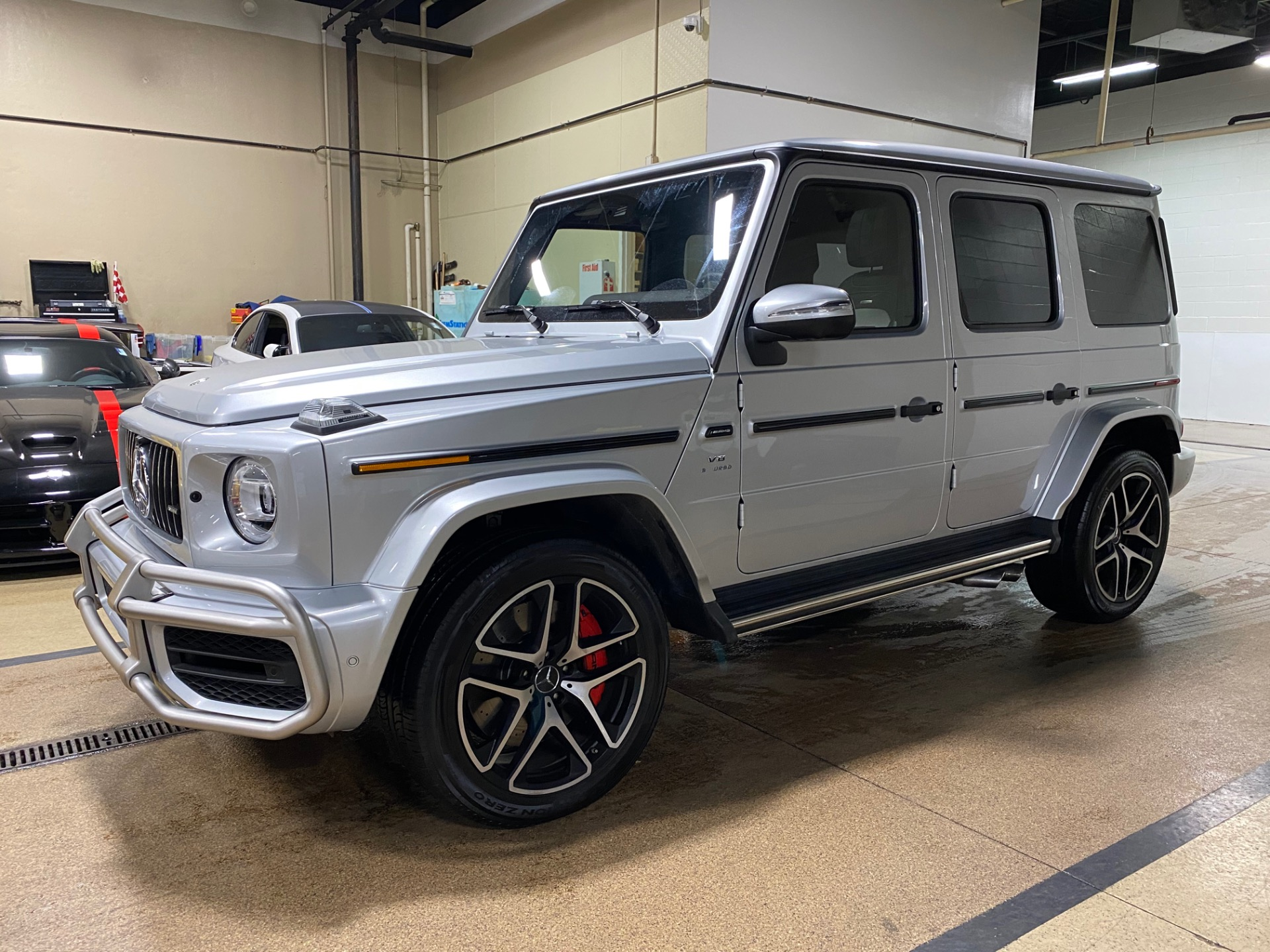 Used 2019 Mercedes Benz G Class G63 Amg 4 Matic Suv Only 5 700 Miles Elegant Color Combination For Sale Special Pricing Chicago Motor Cars Stock 16847