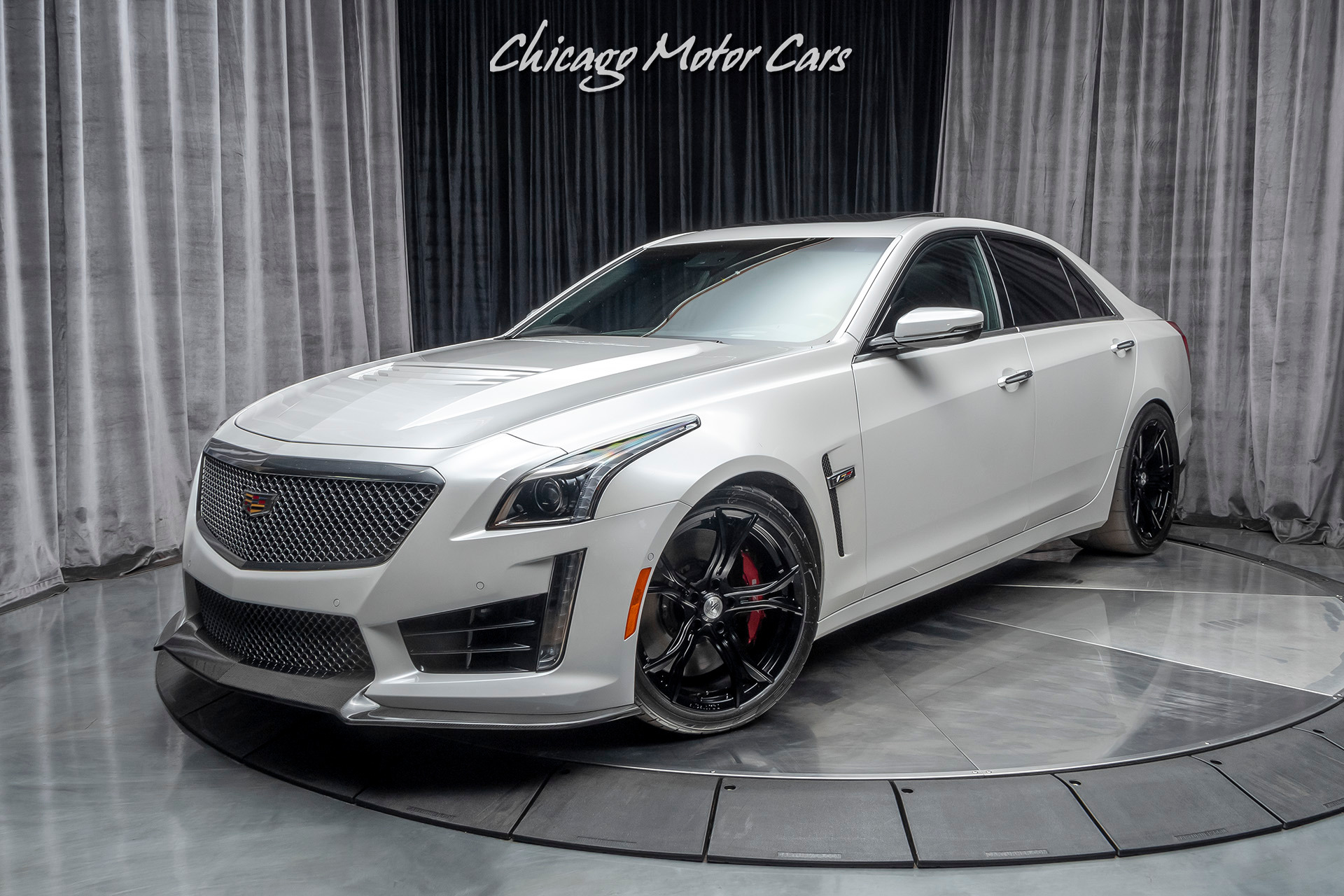 Used 2018 Cadillac Cts V Sedan 881 Rwhp 25k In Upgrades Recaro Racing Seats Luxury Package For Sale Special Pricing Chicago Motor Cars Stock 16869