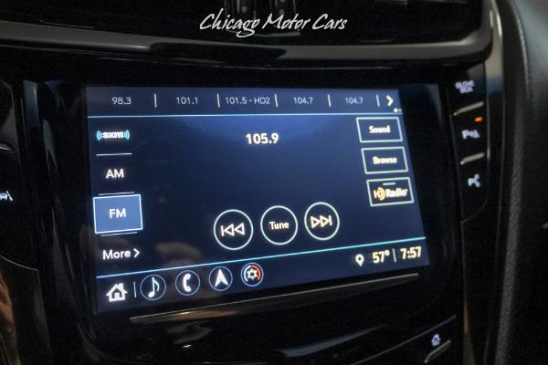 Used-2018-Cadillac-CTS-V-Sedan-RECARO-RACING-SEATS-LUXURY-PACKAGE-PERFORMANCE-VIDEO-RECORDER