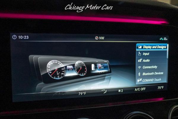 Used-2018-Mercedes-Benz-E43-AMG-Premium-2-Pkg-PANO-ROOF-DESIGNO-WHITE
