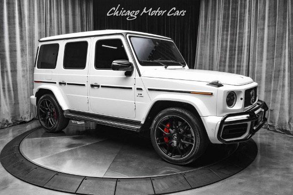 Used-2020-Mercedes-Benz-G63-AMG-4-Matic-SUV-AMG-Night-Package-Exclusive-Package-WHITE