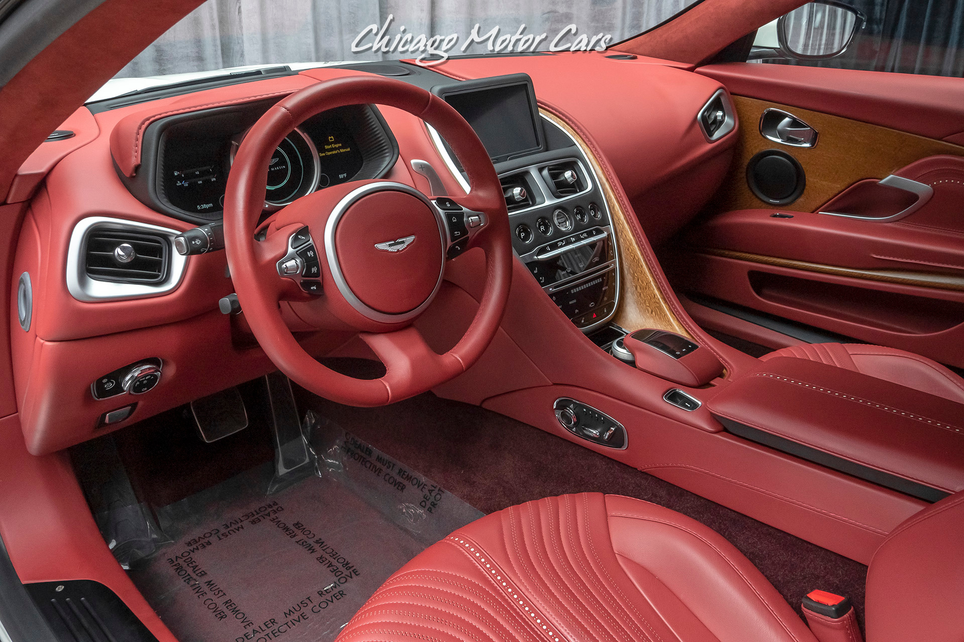 Used 2017 Aston Martin Db11 V12 Coupe Loaded With Options Technology Pack For Sale Special Pricing Chicago Motor Cars Stock 16905b