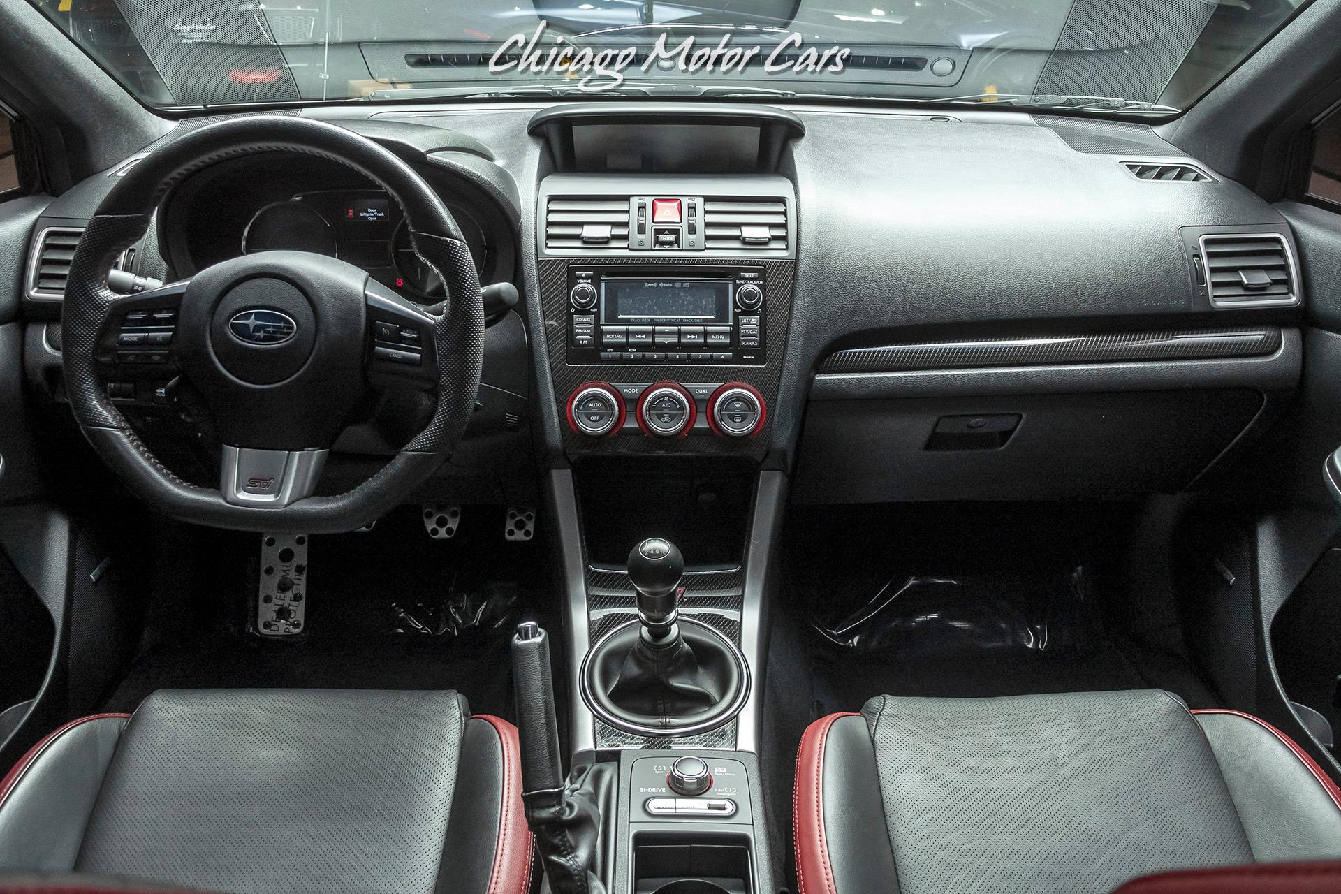 Used-2015-Subaru-WRX-STI-Limited-Sedan-ONLY-32K-Miles--FUN-6-SPEED-MANUAL