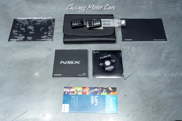 Used-2017-Acura-NSX-SH-AWD-Sport-Hybrid-CARBON-CERAMIC-BRAKES-CARBON-FIBER-INTERIOR