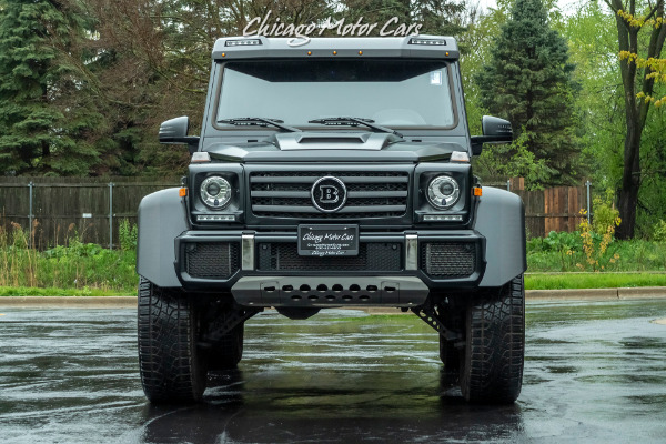 Used-2017-Mercedes-Benz-G550-4x4-Squared-SUV-Brabus-Package-Matte-Black-LOADED-Carbon-Fiber