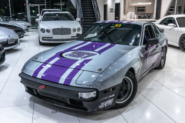 Used-1984-Porsche-944-SPEC-1-RACECAR-SETUP-WENCLOSED-HAULMARK-20FT-TRAILER