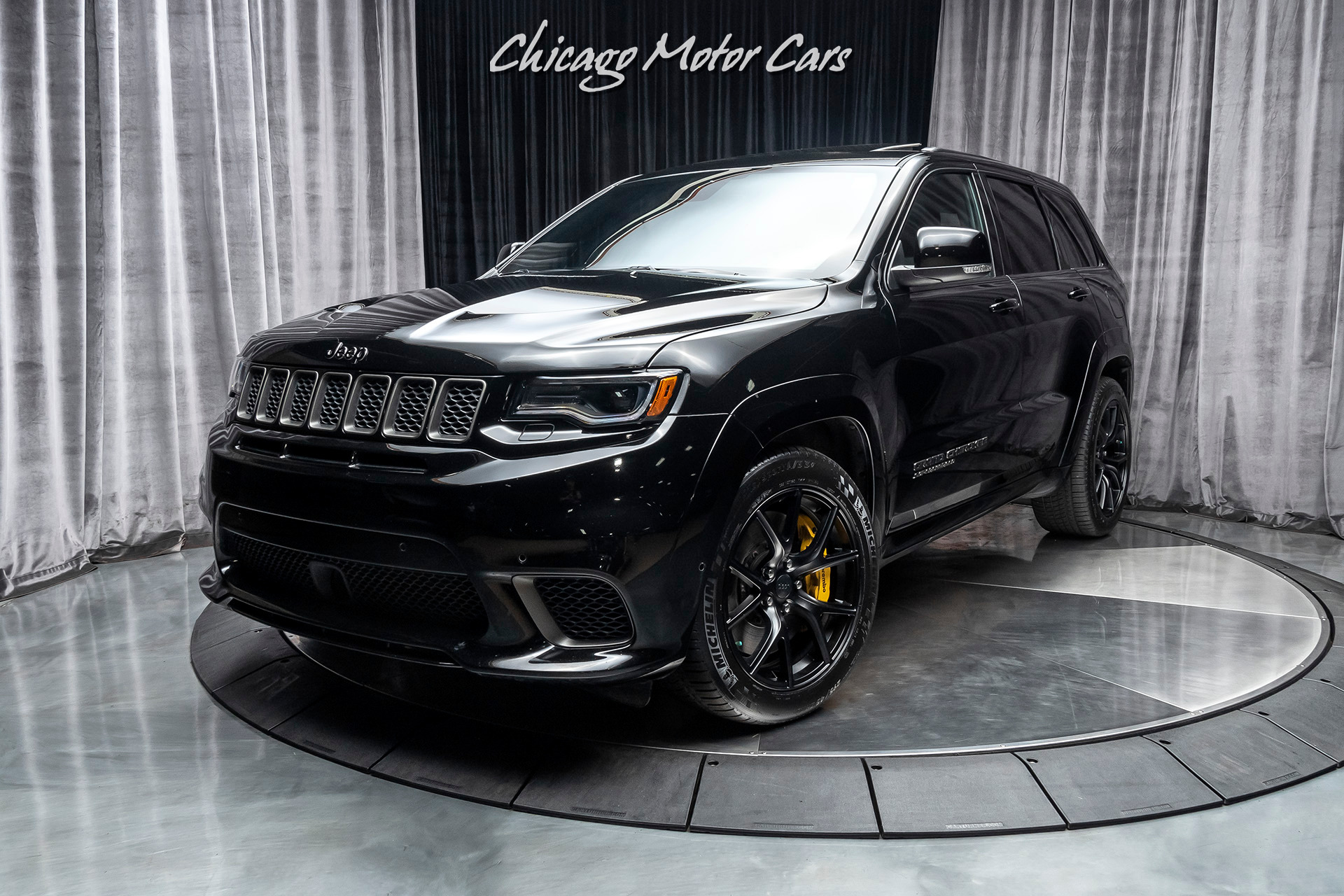 used 2018 jeep grand cherokee trackhawk 4wd suv signature leather wrapped interior 707hp 6 2l sc v8 for sale special pricing chicago motor cars stock 17036 used 2018 jeep grand cherokee trackhawk